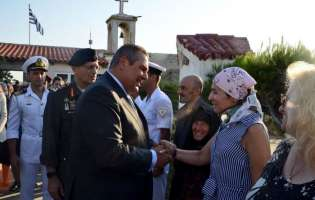 Συγκίνηση στη Λειτουργία στη Σέριφο για την Αρχιλοχία Βασιλική Πλεξίδα